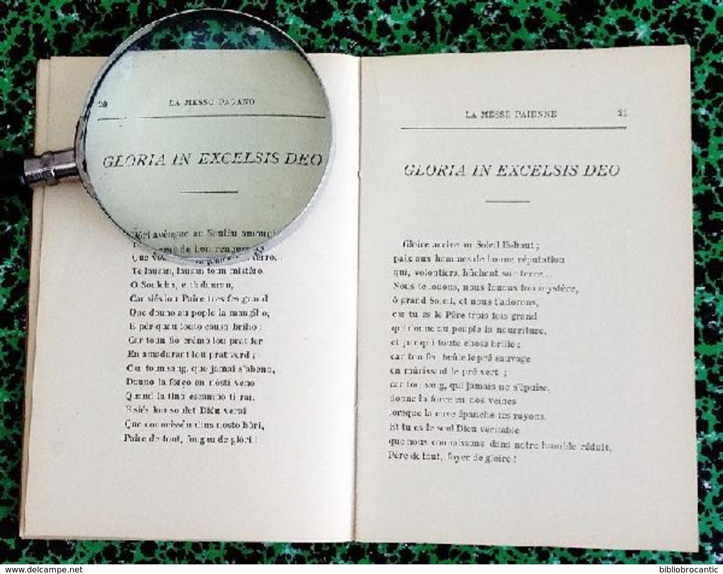 * LA MESSO PAGANO * ( La Messe Païenne )  Par LOUIS ASTRUC 1897 - Livres, BD, Revues