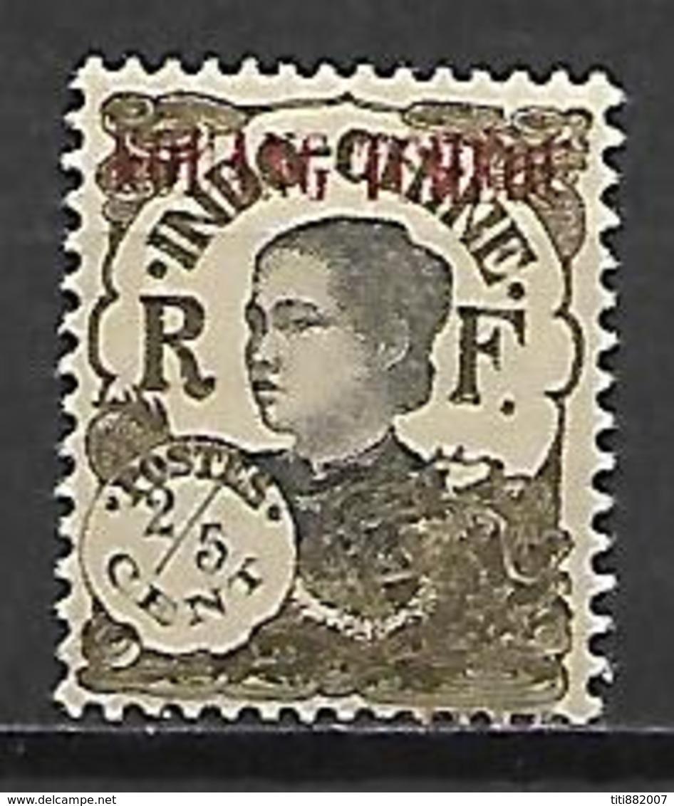 KOUANG - TCHEOU    -   1923 .  Y&T N° 54 * - Unused Stamps
