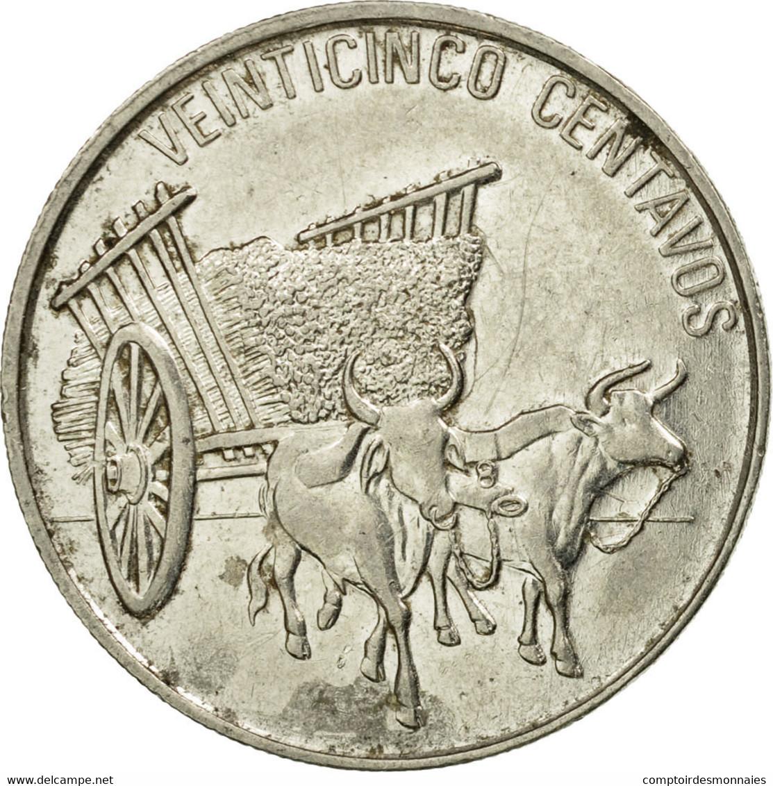 Monnaie, Dominican Republic, 25 Centavos, 1991, TB+, Nickel Clad Steel, KM:71.1 - Dominicaine