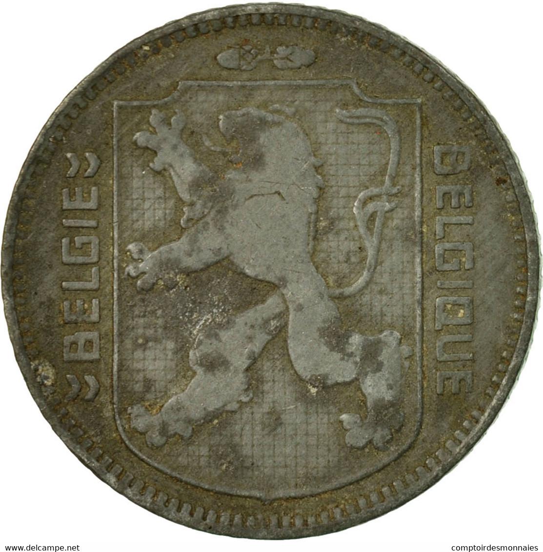 Monnaie, Belgique, Franc, 1945, TB, Zinc, KM:128 - 1934-1945: Leopold III