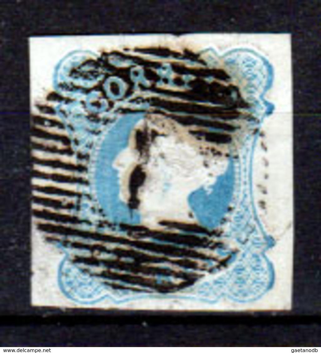 Portogallo-A-0001 - Emissione 1853 (o) Used - Senza Difetti Occulti. - 1853 : D.Maria