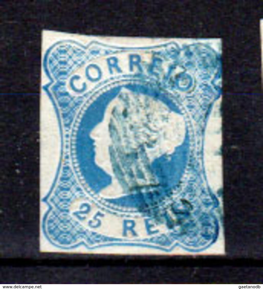 Portogallo-A-0003 - Emissione 1853 (o) Used - Senza Difetti Occulti. - Usati