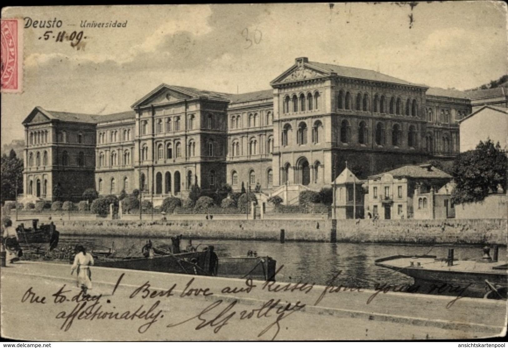 Cp Deusto Bilbao Baskenland, Universidad, Vista Exterior, Fluir - Espagne