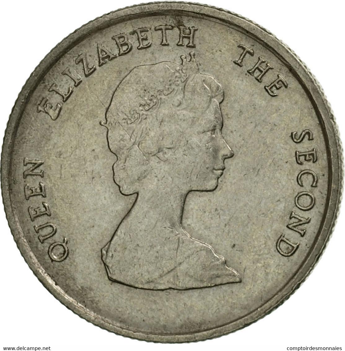 Monnaie, Etats Des Caraibes Orientales, Elizabeth II, 10 Cents, 1986, TTB - Caraïbes Orientales (Etats Des)
