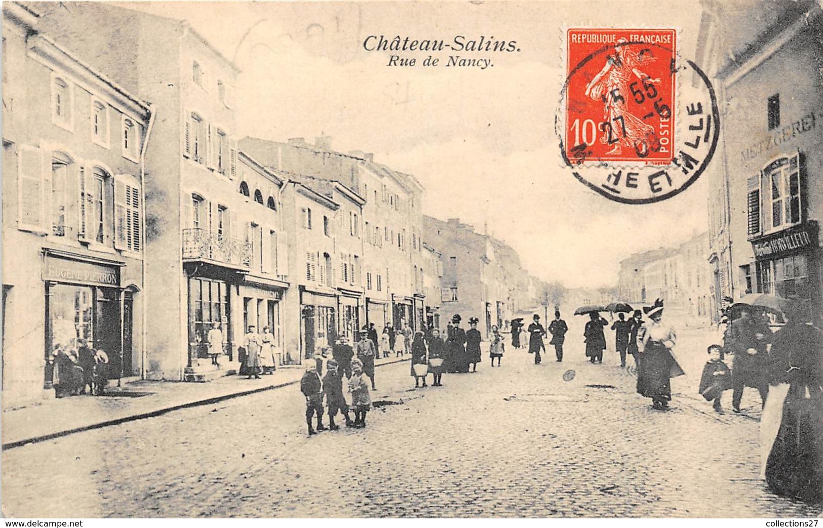 57-CHATEAU-SALINS-RUE DE NANCY - Chateau Salins