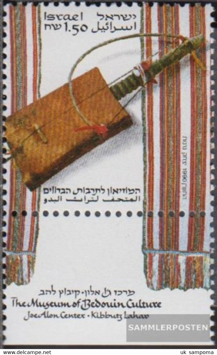 Israel 1152 With Tab (complete Issue) Unmounted Mint / Never Hinged 1990 Beduinen In Israel - Israel