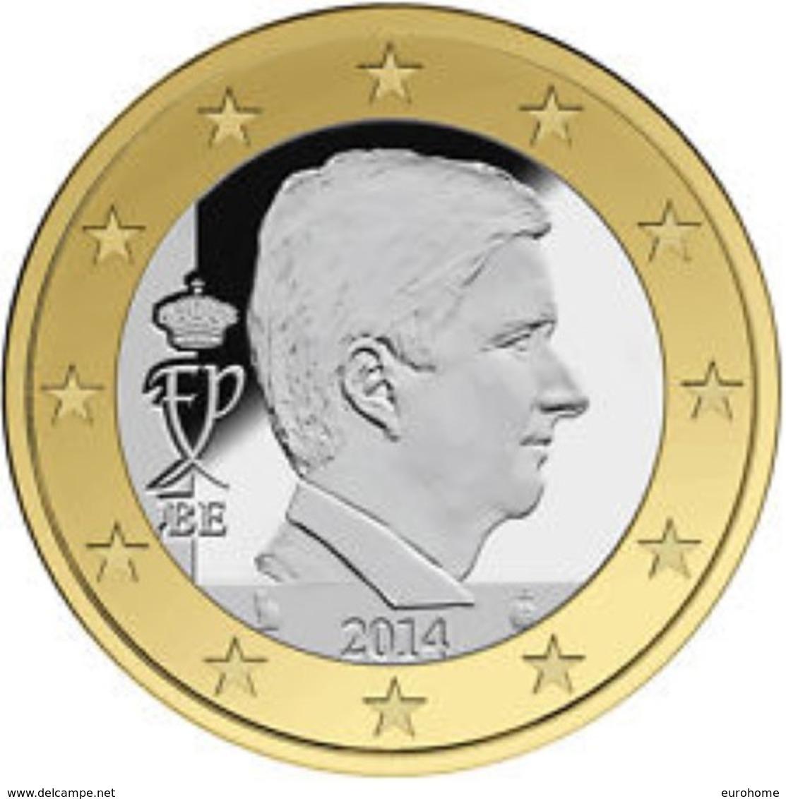 Belgie 2018  1 Euro  UNC Uit De BU UNC Du Coffret  !! Zeer Zeldzaam - Extréme Rare !!! - Belgium