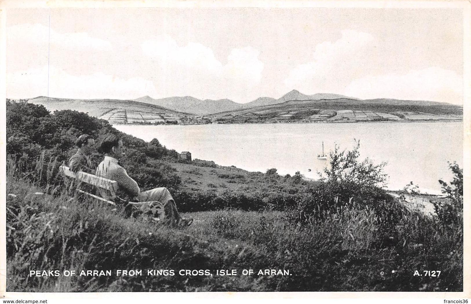 Isle Of Arran - Peaks Of Arran From Kings Cross - Ayrshire