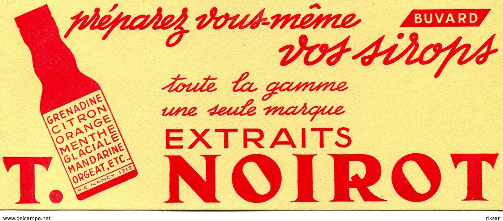 BUVARD(SIROP NOIROT) NANCY - Buvards, Protège-cahiers Illustrés