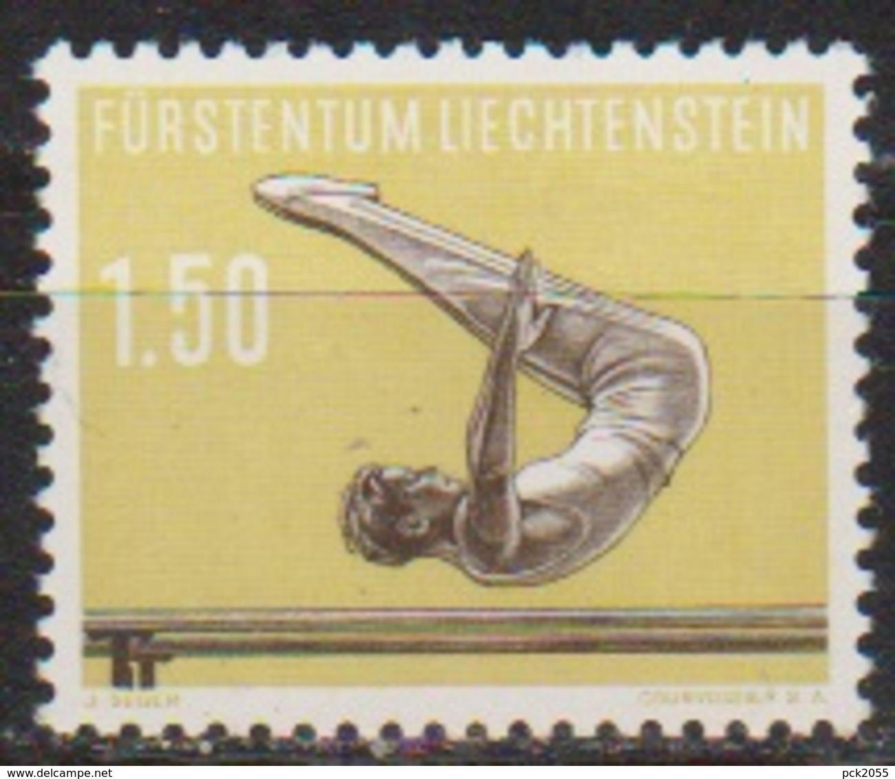 Lichtenstein 1957 MiNr.356 ** Postfr. Sport Barrenturnen ( 677 )günstige Versandkosten - Liechtenstein