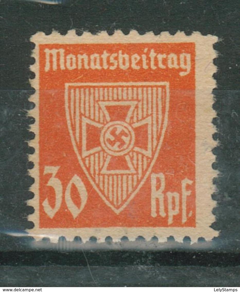 Duitse Rijk / Deutsches Reich Nazi Monthly Revenue NSDAP - Allemagne