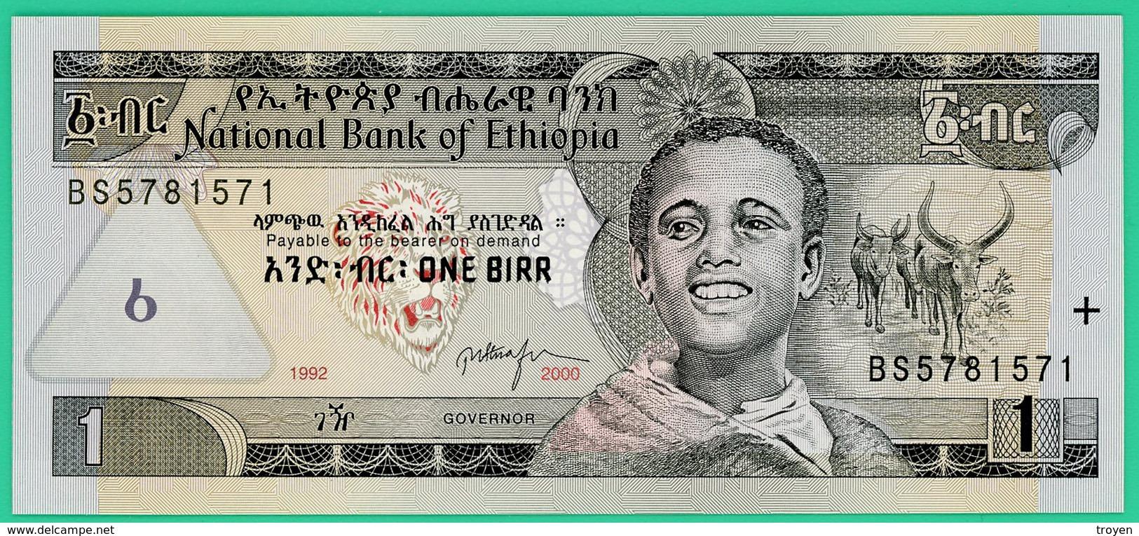 1 Birr - Ethiopie - 2000 - N° BS5781571 - Neuf - - Ethiopie