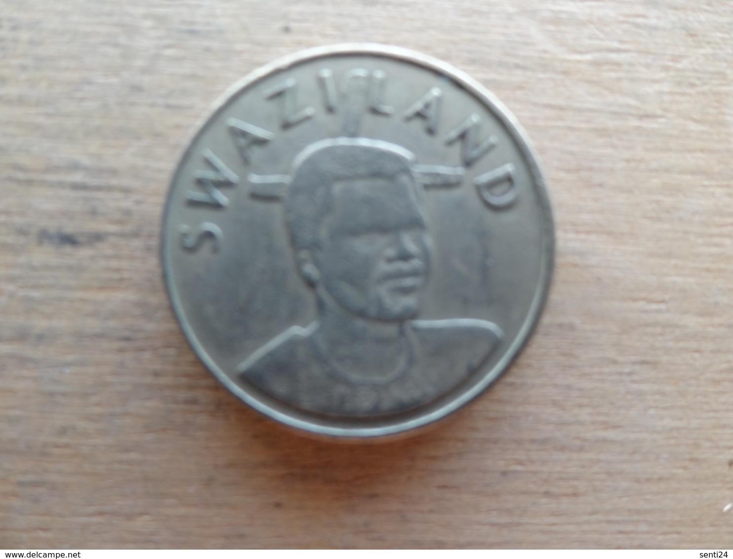 Swaziland  1 Lilangeni  1996  Km 45 - Swaziland