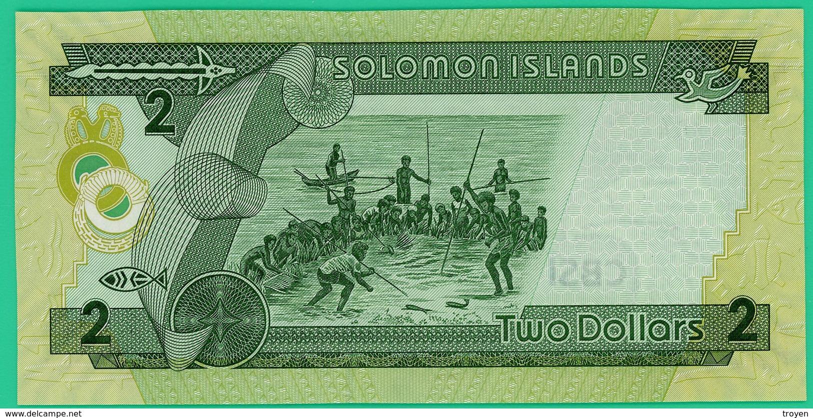 2 Dollars - Salomon Islande - N°. C/2 935417 - Neuf - - Iceland