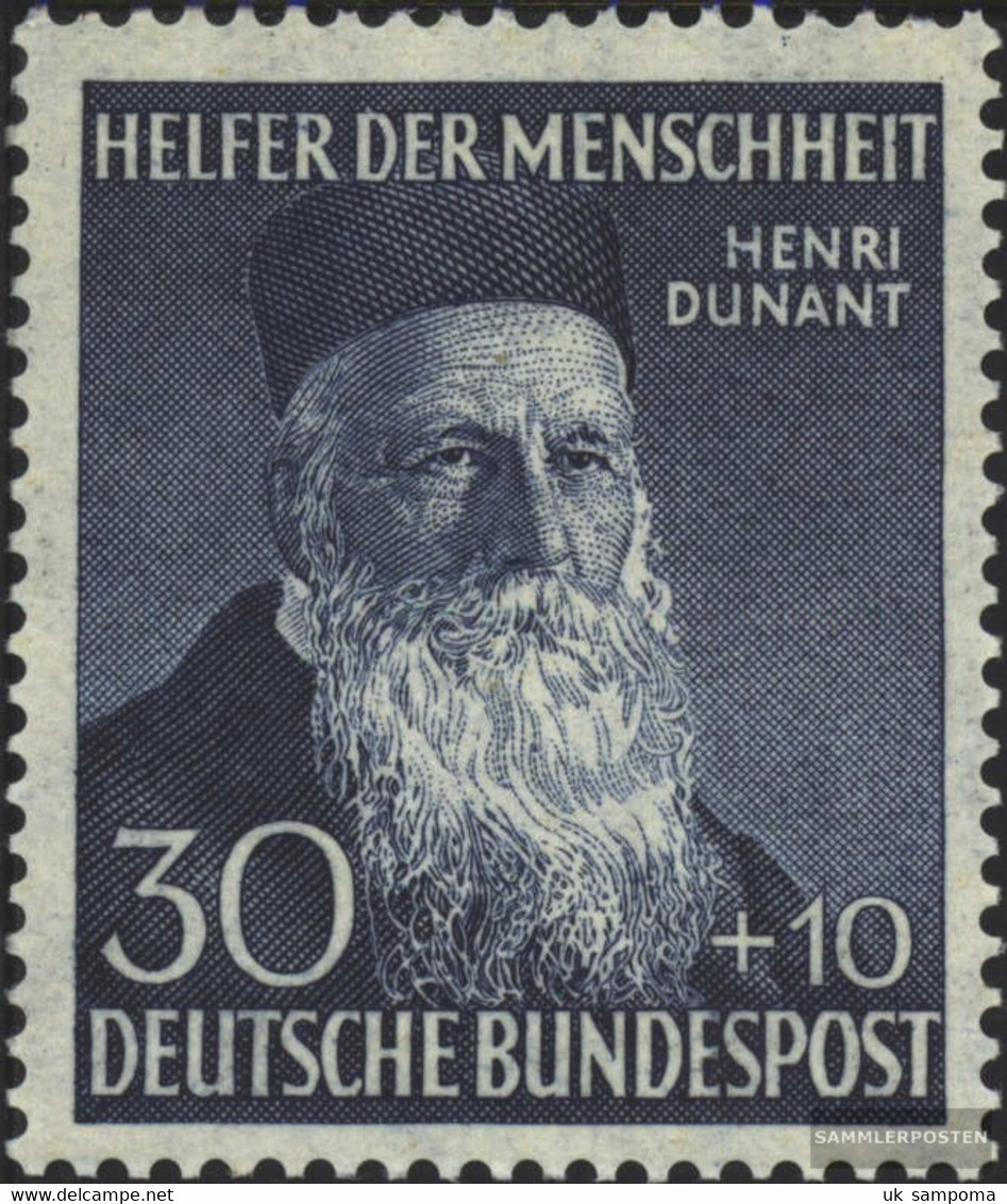 FRD (FR.Germany) 159 Unmounted Mint / Never Hinged 1952 Helpers The Humanity (III) - [7] Federal Republic