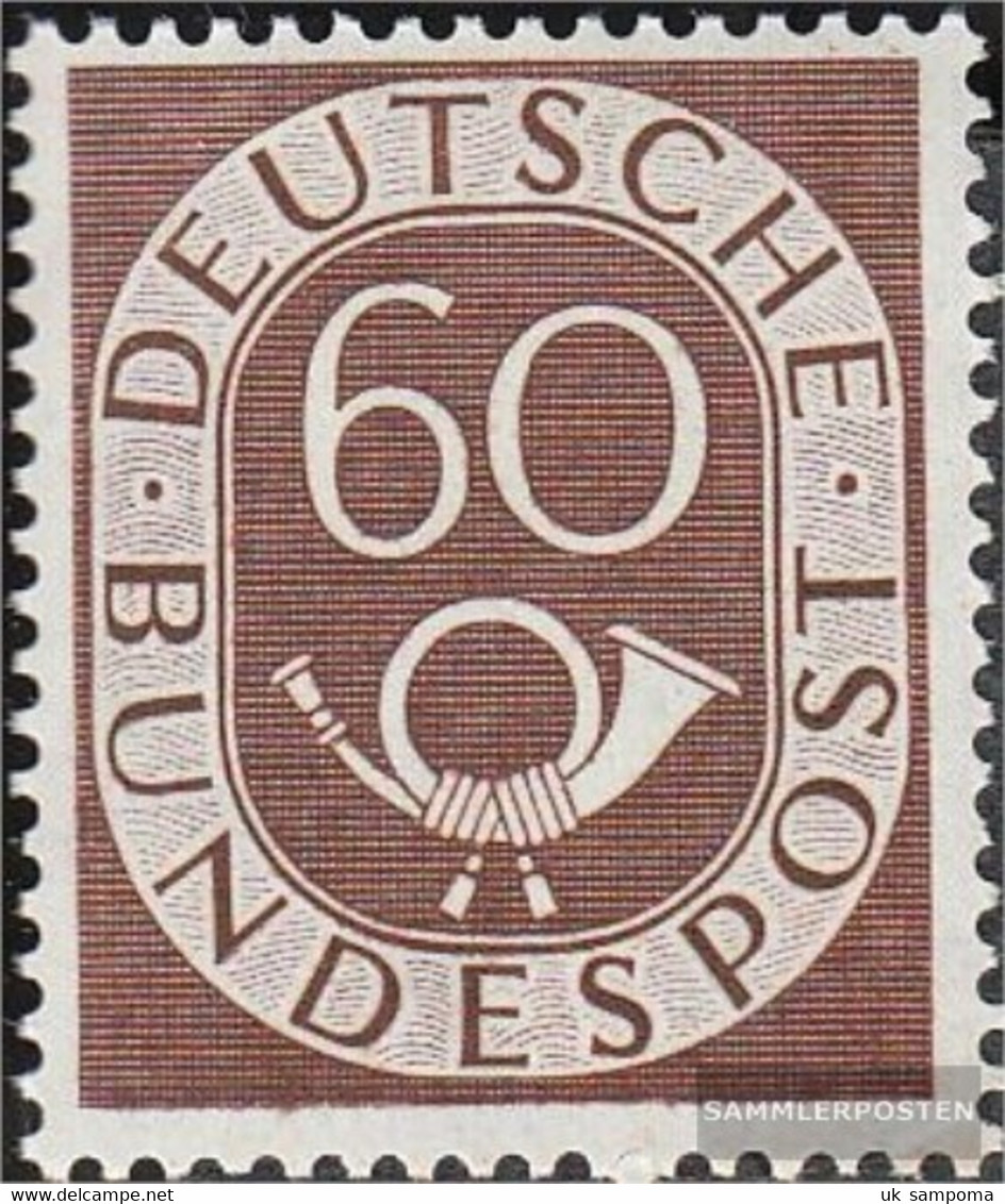 FRD (FR.Germany) 135 Tested Unmounted Mint / Never Hinged 1951 Horn - Unused Stamps