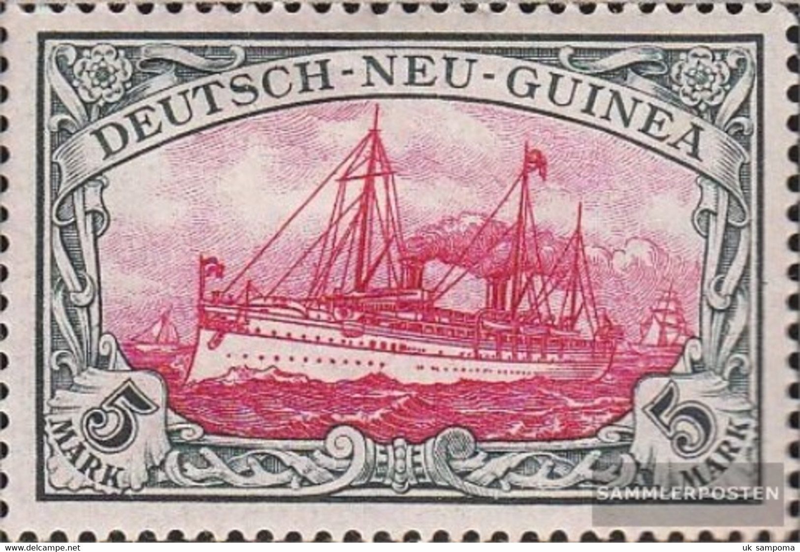 German-Guinea 19 Unmounted Mint / Never Hinged 1901 Ship Imperial Yacht Hohenzollern - Colony: German New Guinea