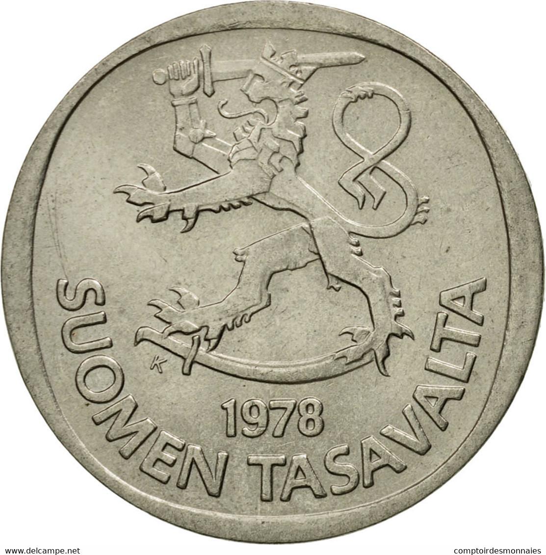 Monnaie, Finlande, Markka, 1978, TTB, Copper-nickel, KM:49a - Finlande