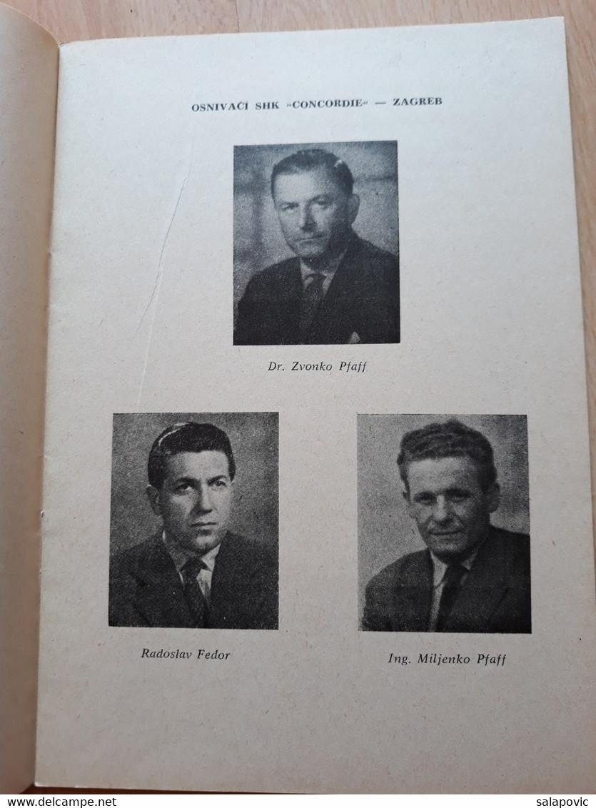 30 GODIŠNJICA SHK CONCORDIA 1932 - 1962, FOOTBALL CLUB - Livres