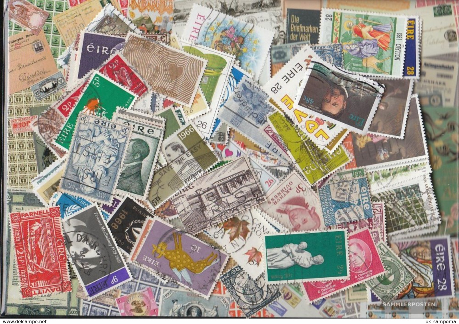 Ireland 600 Different  Special Stamps And Large - Collections, Lots & Series