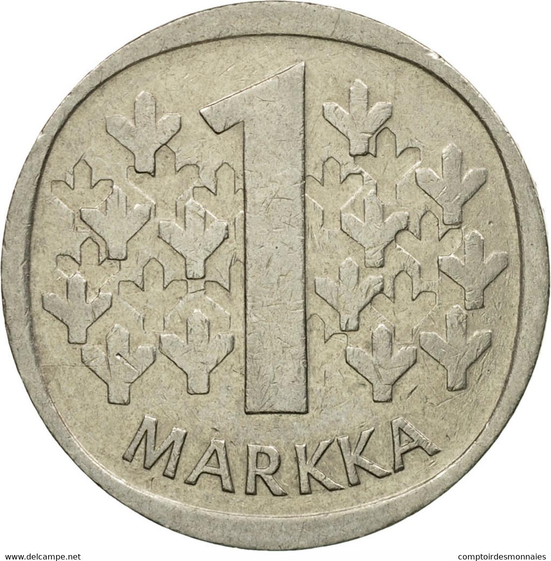 Monnaie, Finlande, Markka, 1970, TB, Copper-nickel, KM:49a - Finlande