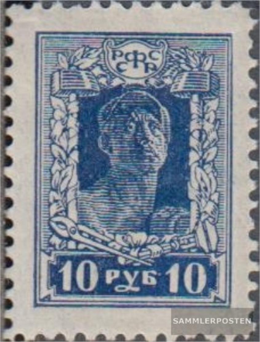Russland 208D MNH 1922 Le Forze Il Revolution - Nuevos