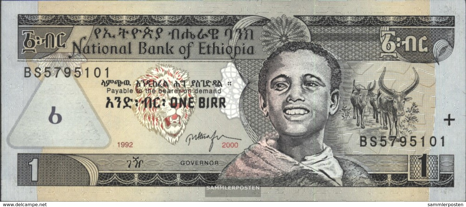 Äthiopien Pick-No.: 46b Nuevo 2000 1 Birr - Ethiopie