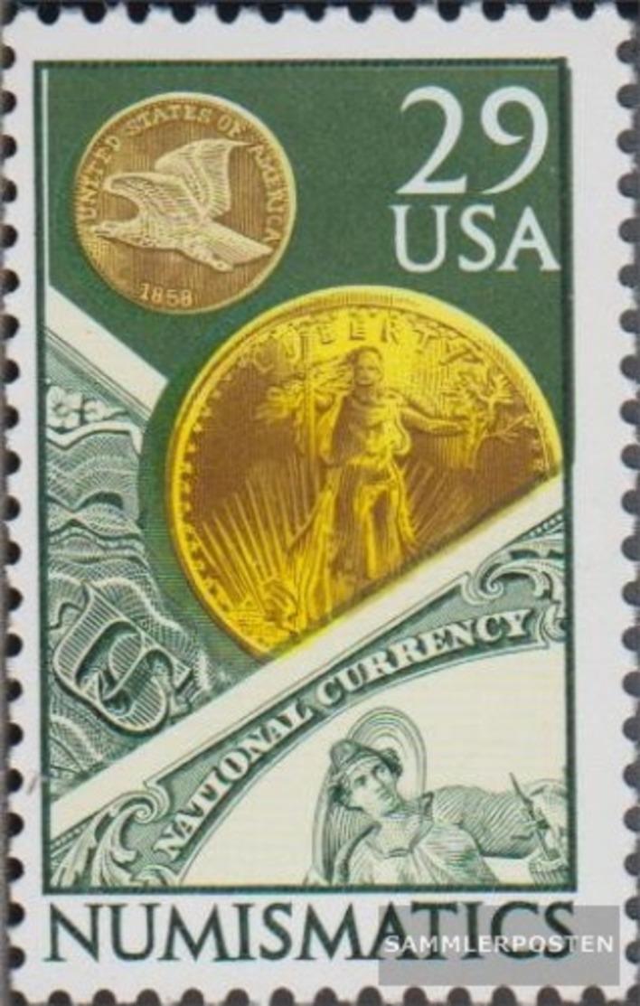 USA 2161 (completa Edizione) MNH 1991 Numismatik - Nuevos