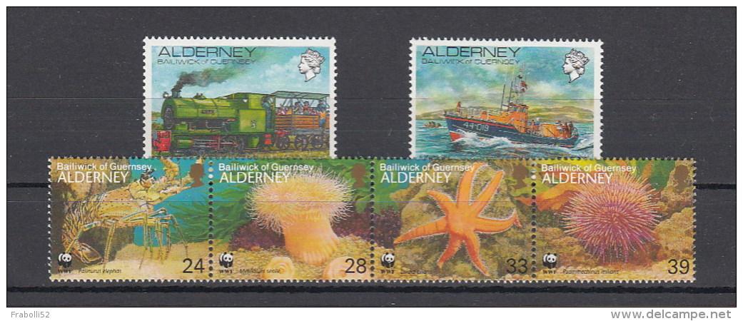 Alderney Nuovi: 1993 Annata Completa - Alderney