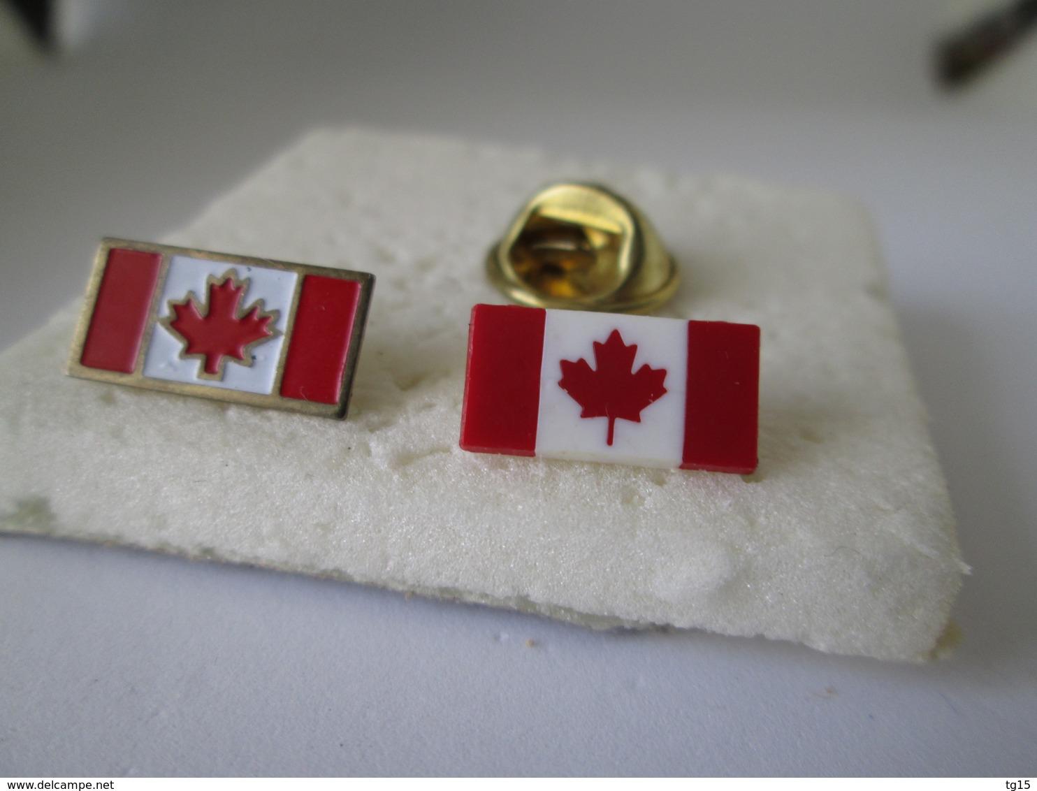 PIN'S  LOT  2  CANADA - Badges