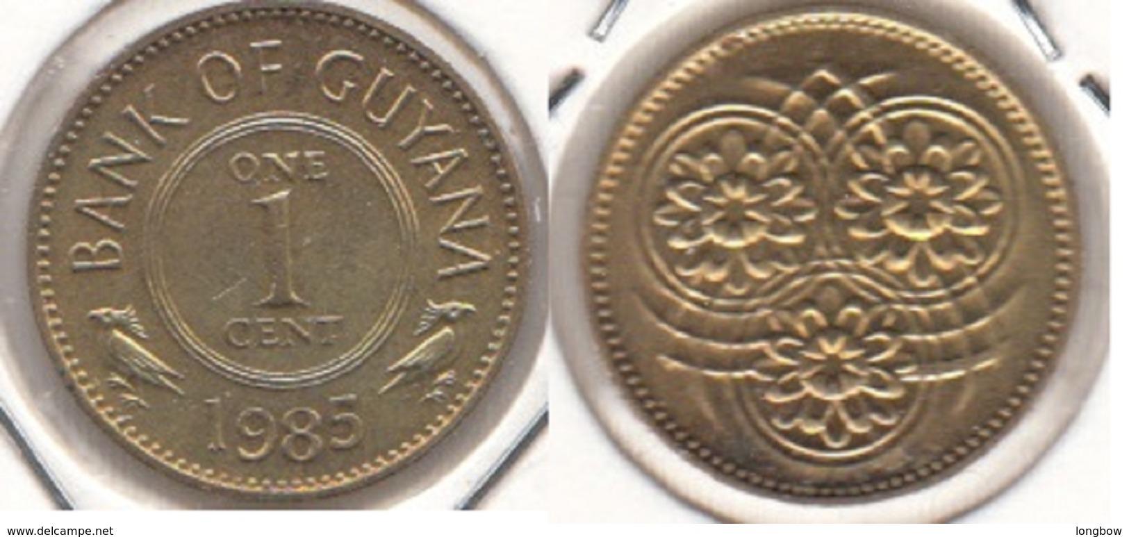 Guyana 1 Cent 1985 KM#31 - Used - Guyana