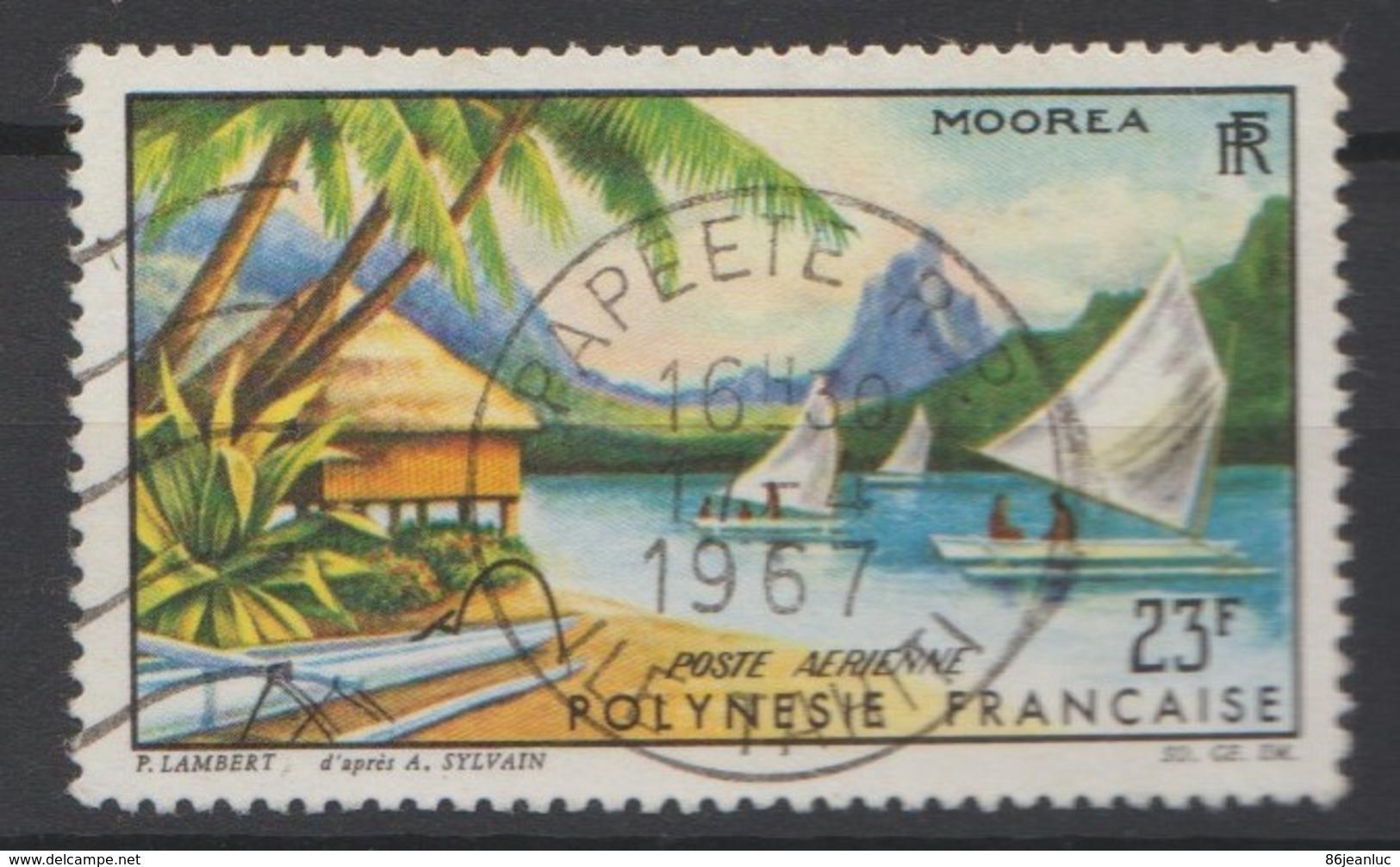 POLYNÉSIE FRANÇAISE :  Poste Aérienne N° 9 - Oblitéré - Poste Aérienne