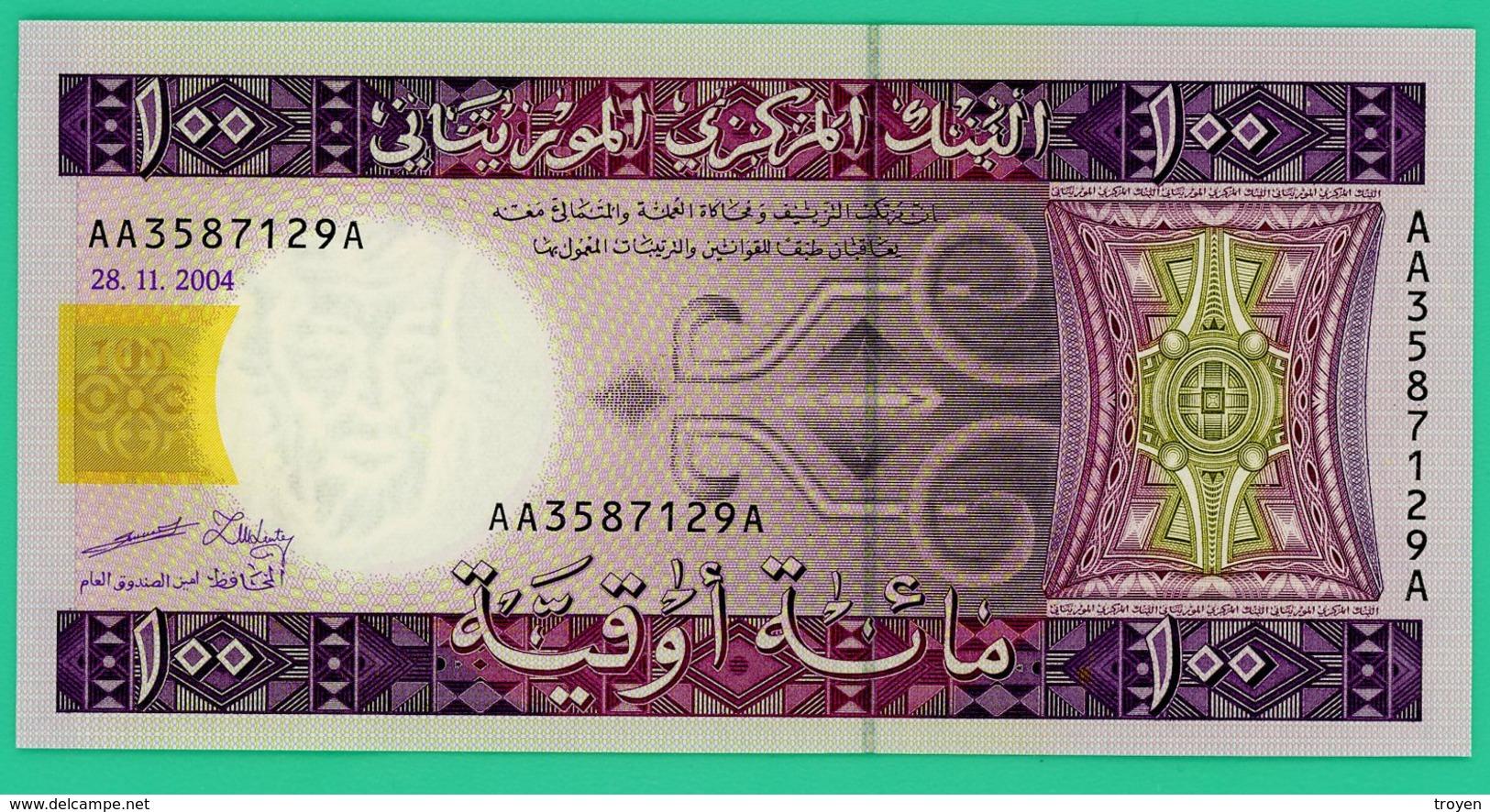 100 Ouguiya - Mauritanie - 2004 - N° AA3587129A -  Neuf - - Mauritania