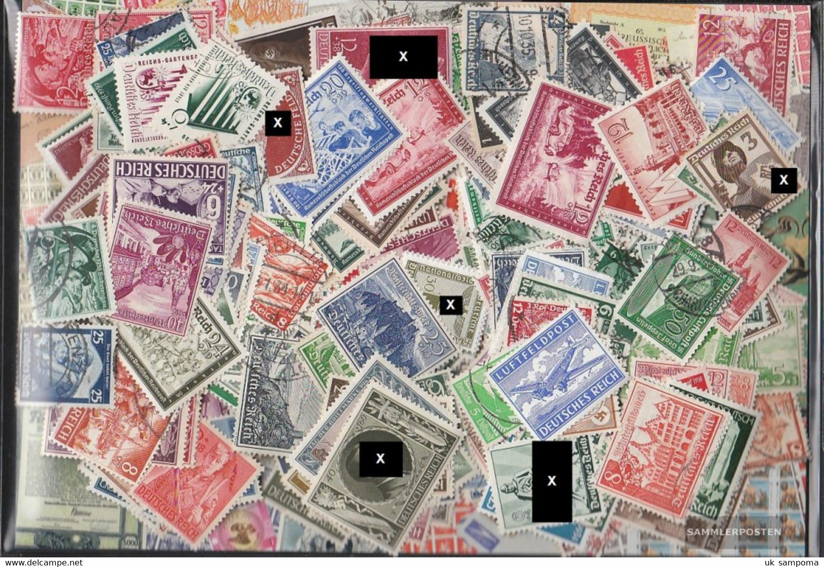 German Empire 600 Different Stamps  Third Empire Without Dependencies - Germany
