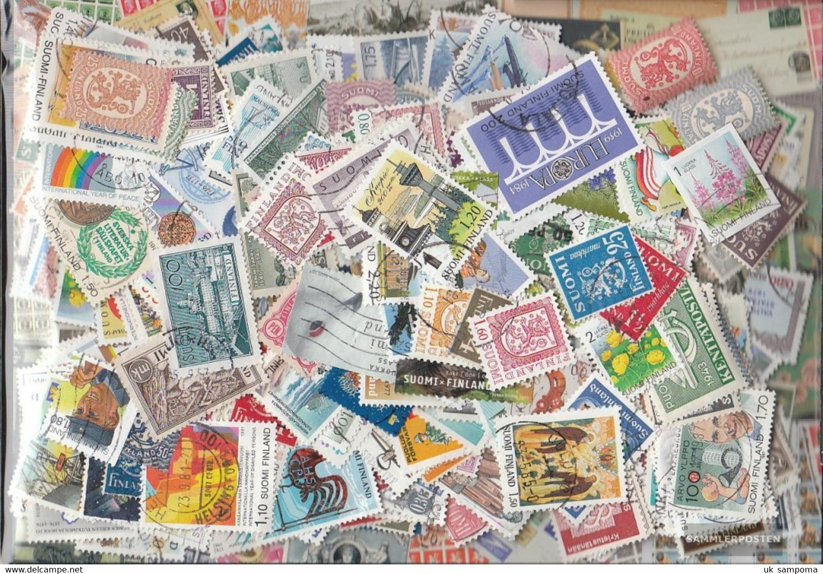 Finland 1.400 Different Stamps - Finland