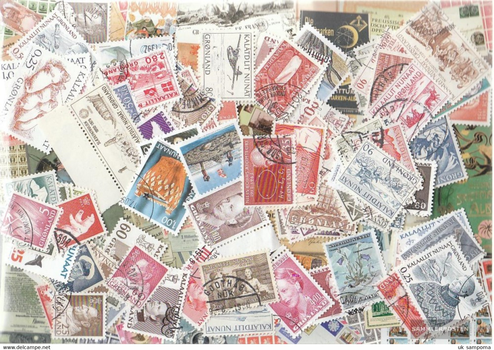 Denmark - Greenland 400 Different Stamps - Collections, Lots & Series