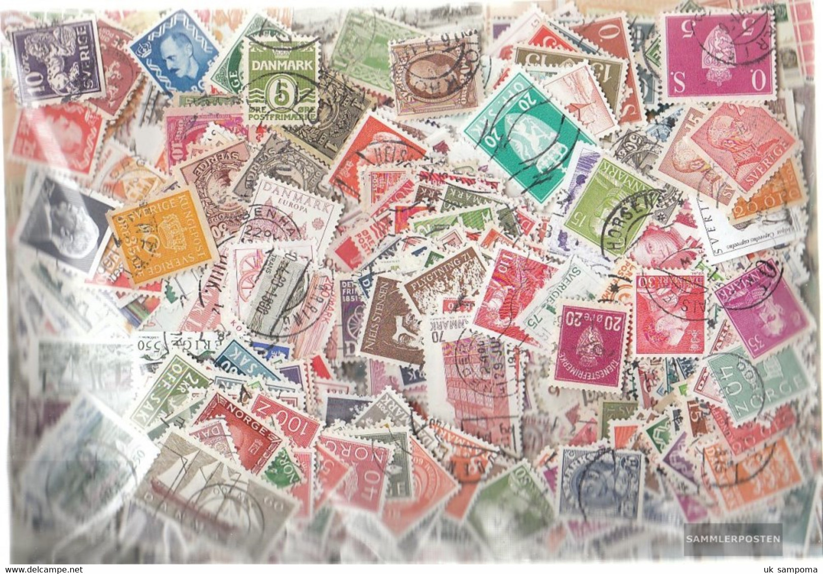 Northern Europe 7.000 Different Stamps  Scandinavia - Europe (Other)
