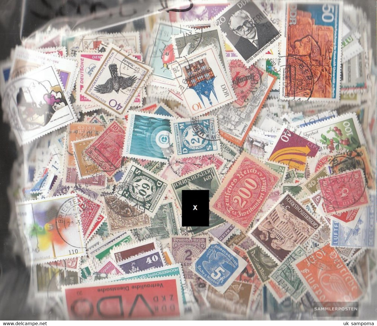 Germany Stamps-8.000 Different Stamps - Germany