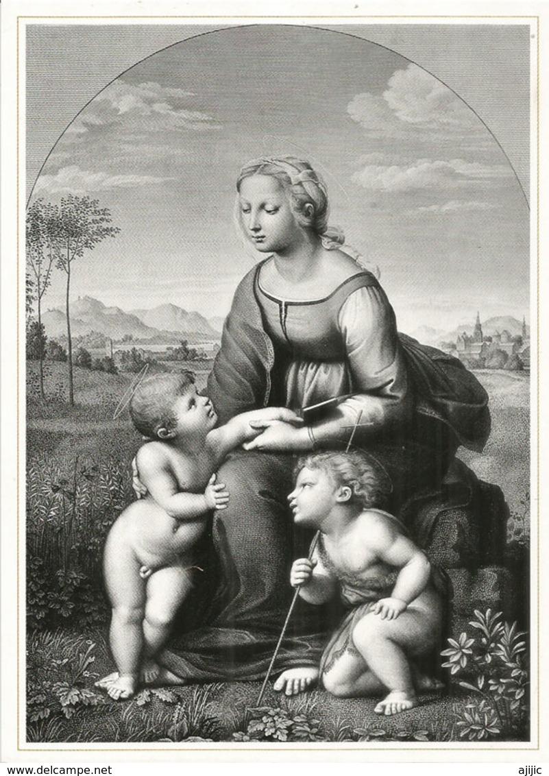 """""""La Belle Jardinière"""" A.Gaspard Desnoyers.  Musée National Des Beaux'Arts.Baku. Carte Postale Neuve Format 20 X 14,5 Cm - Azerbaïjan"""