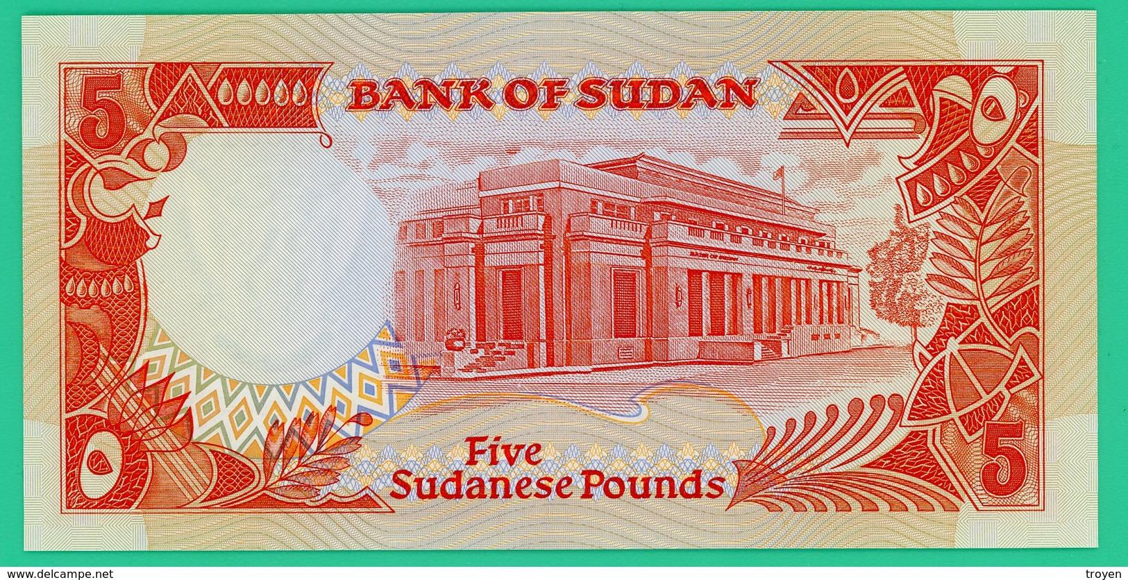 5 Livres - Soudan - 1991 - N° D/253 351523 -  Neuf - - Soudan