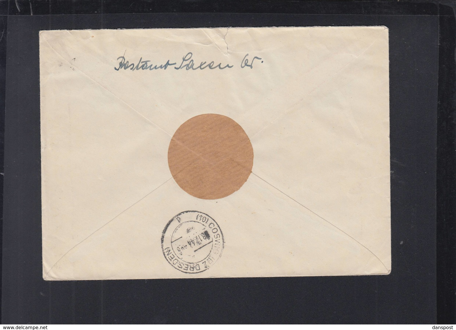 Dt. Reich Österreich R-Brief Saxen Nach Coswig - 1918-1945 1a Repubblica