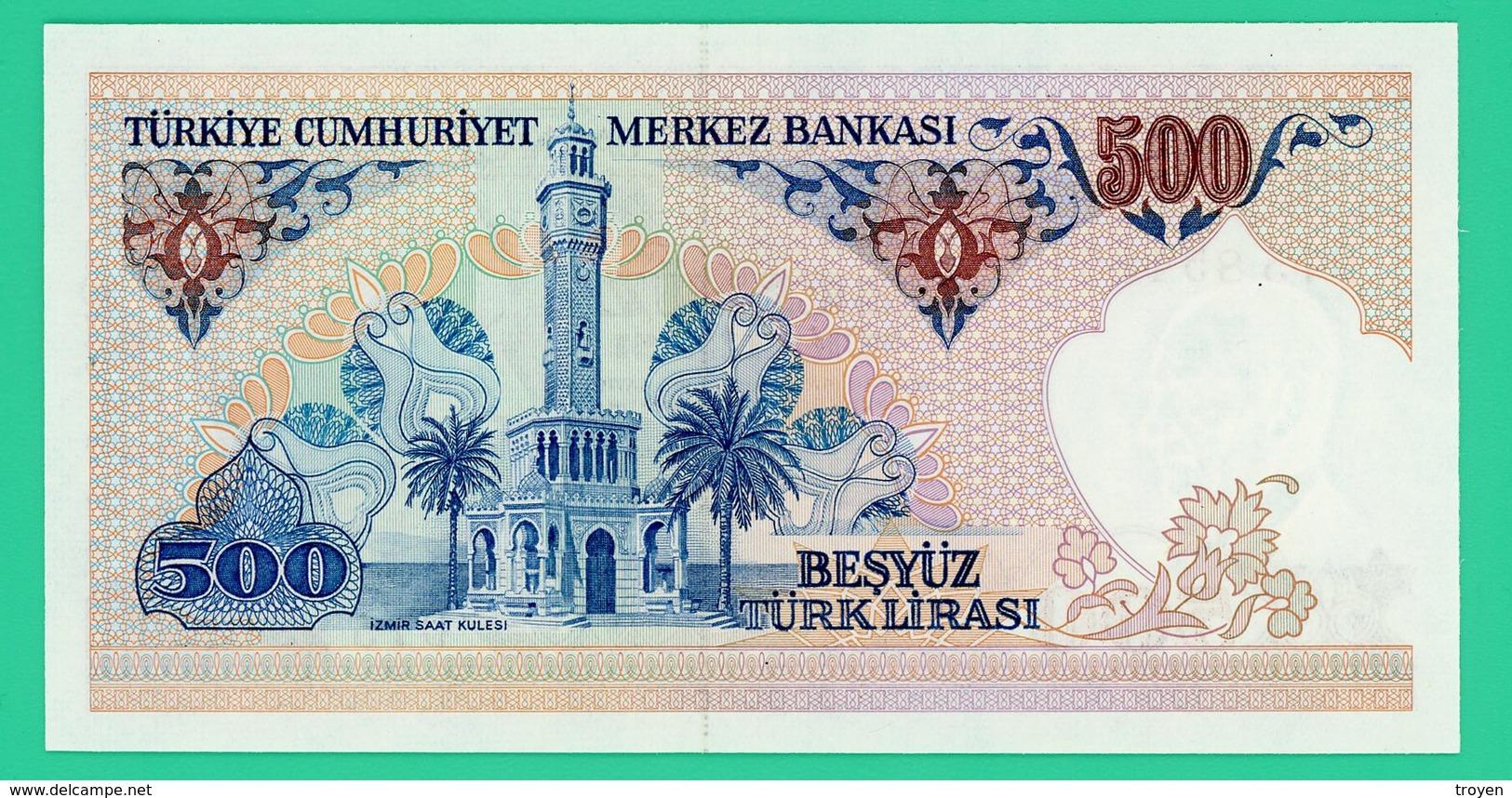 500 Lira - Turquie - 1970 - N° D75854851 -  Neuf - - Turquie