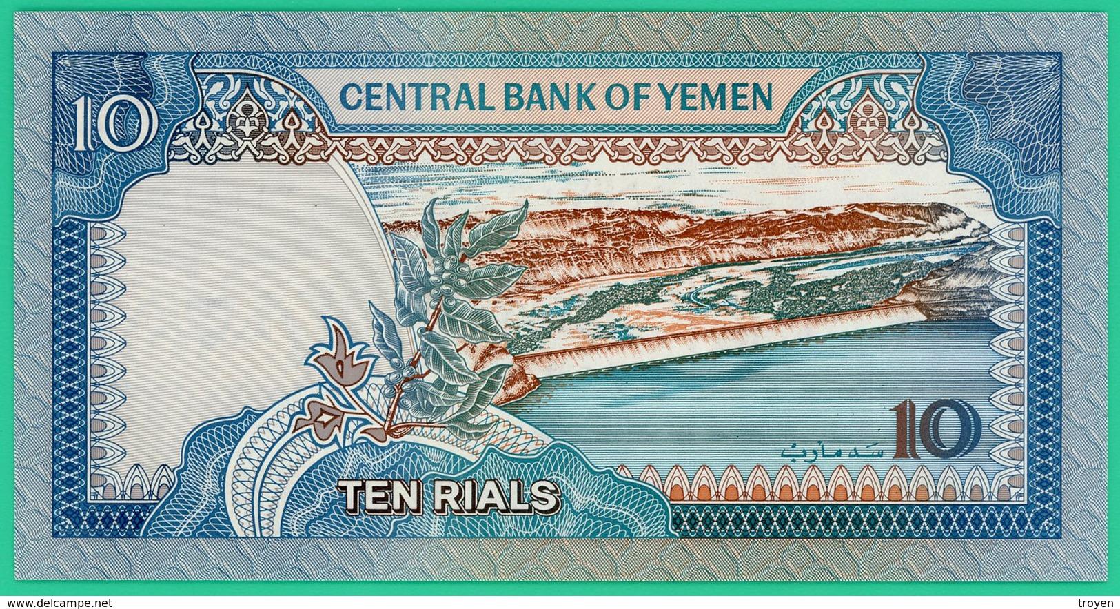 10 Rials - Yemen - 1992 -  Neuf - - Yémen