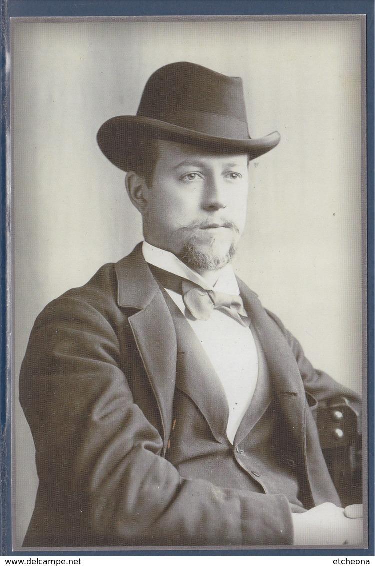 = Portrait De Louis Yvert, Créateur De La Maison Philatélique Yvert Et Tellier En 1896 - Post