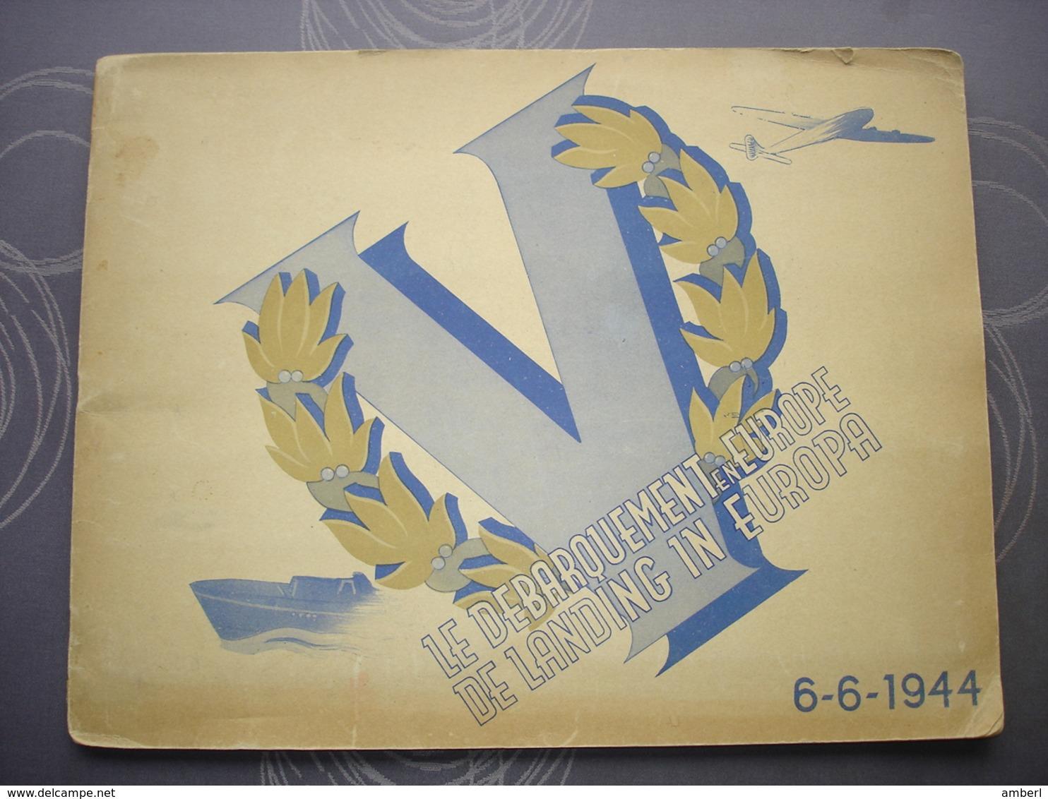 "Album ""De Landing In Europa "" Volledig Uitgave Confiserie De Bie Trefin - Albums & Catalogues"