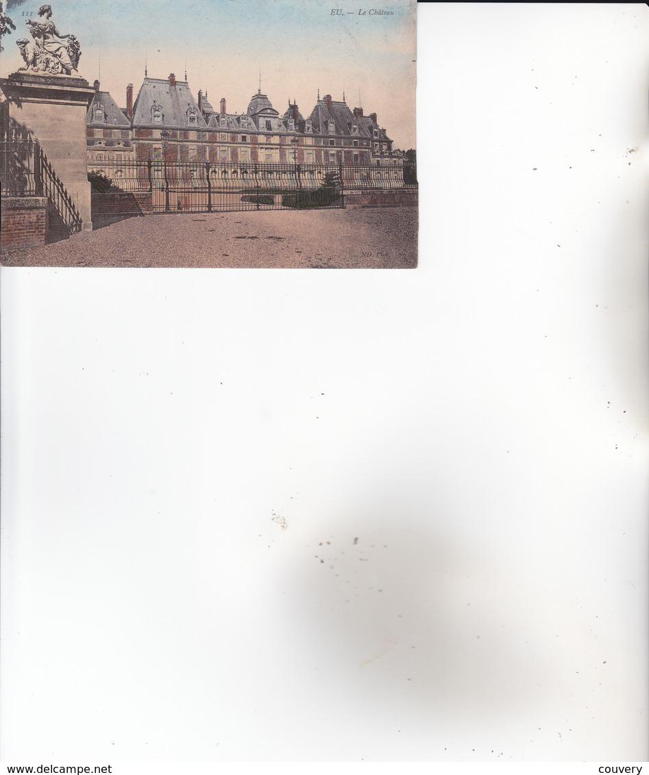 CPA 76 EU ,le Château. - Eu