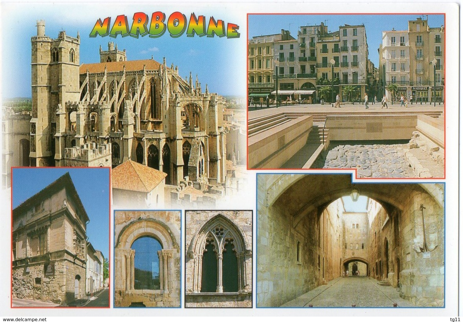 11 - NARBONNE - MULTIVUES - Narbonne