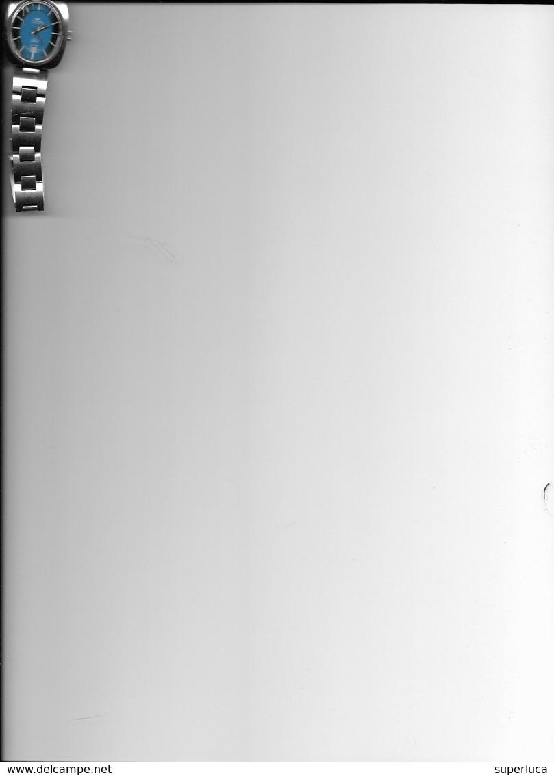 5-OROLOGIO DONNA ACCIAIO AUTOMATICO TECHNOS AUTOMATIC-SELECT(CARICA MANUALE)FUNZIONANTE - Orologi Moderni