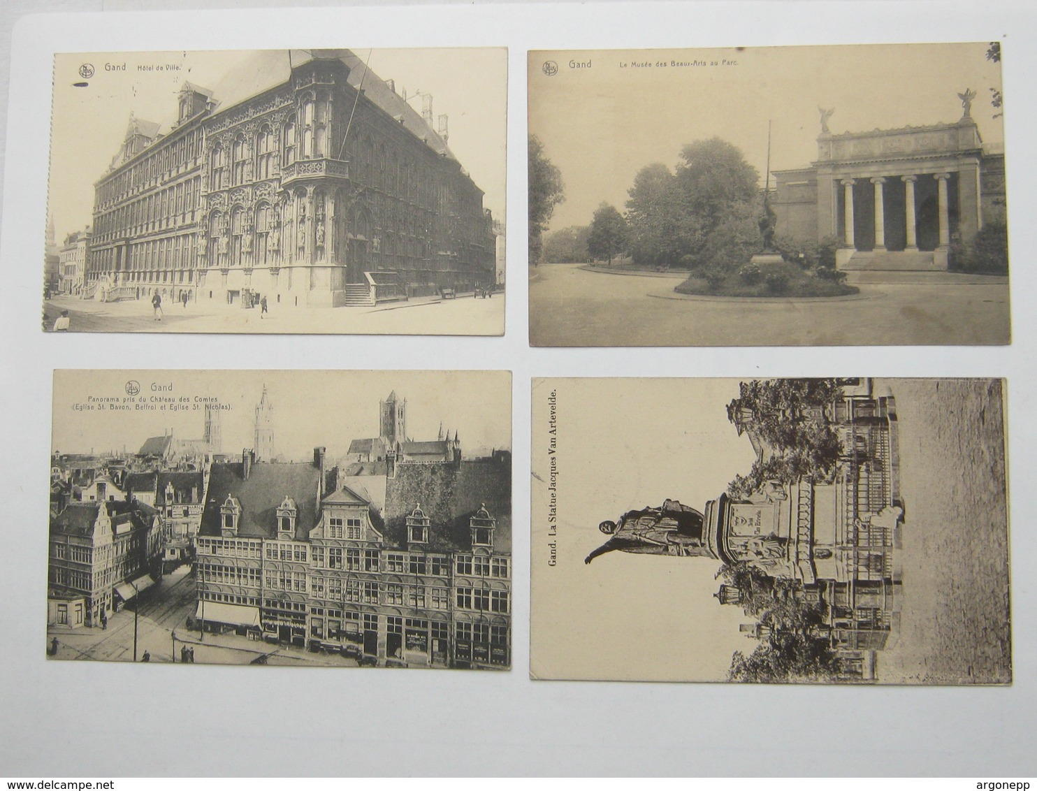 1914/18 , Gand , Gent ,4 Carte Militaire Allemagne, 2 Scan - WW I