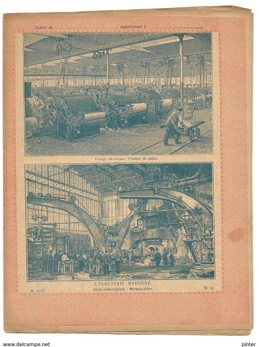 PROTEGE-CAHIER - L'industrie Moderne N° 15 - Protège-cahiers